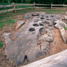 Mortar holes